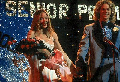 For one brief moment, all the world is right as Tommy and Carrie are crowned King and Queen.
