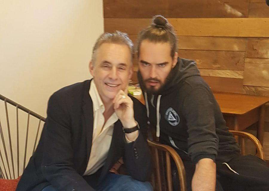 Jordan Peterson and Russell Brand